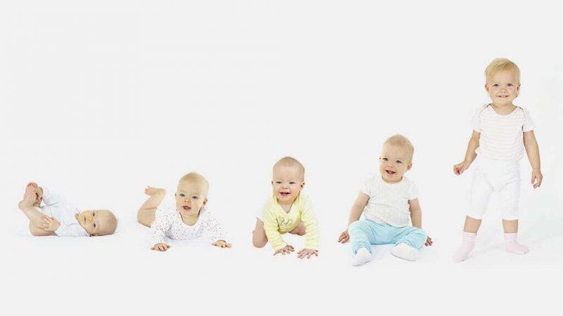 Poussée de croissance chez les bébés