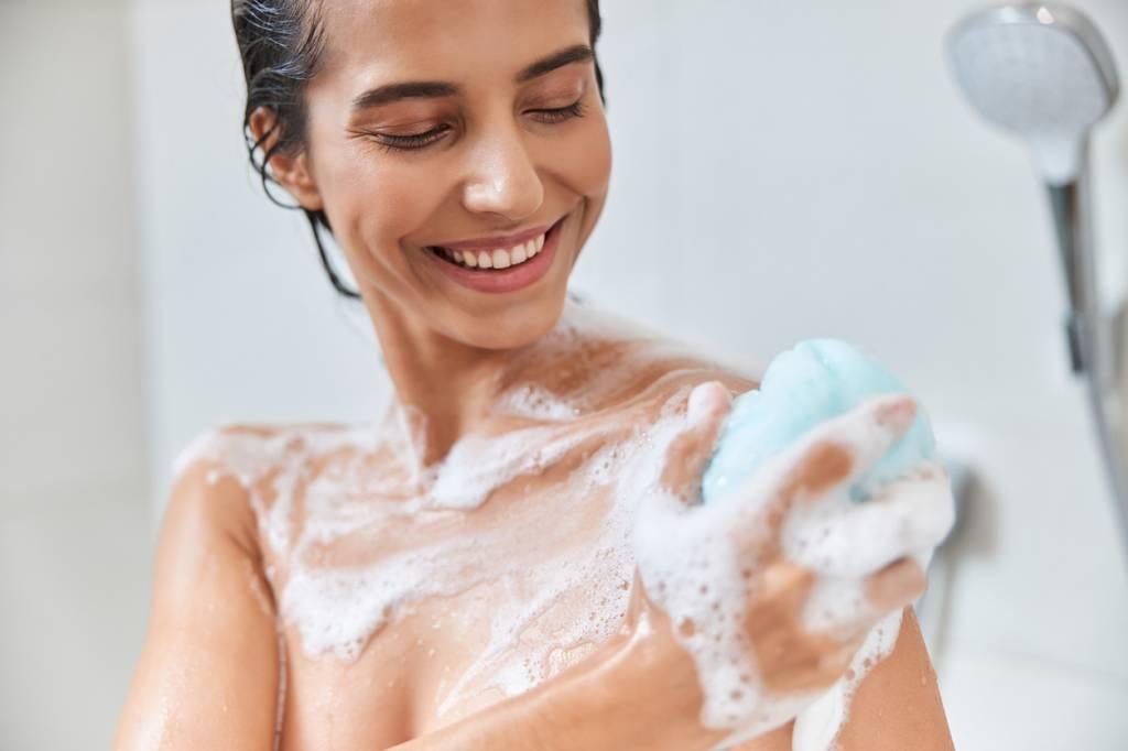 peau gel douche