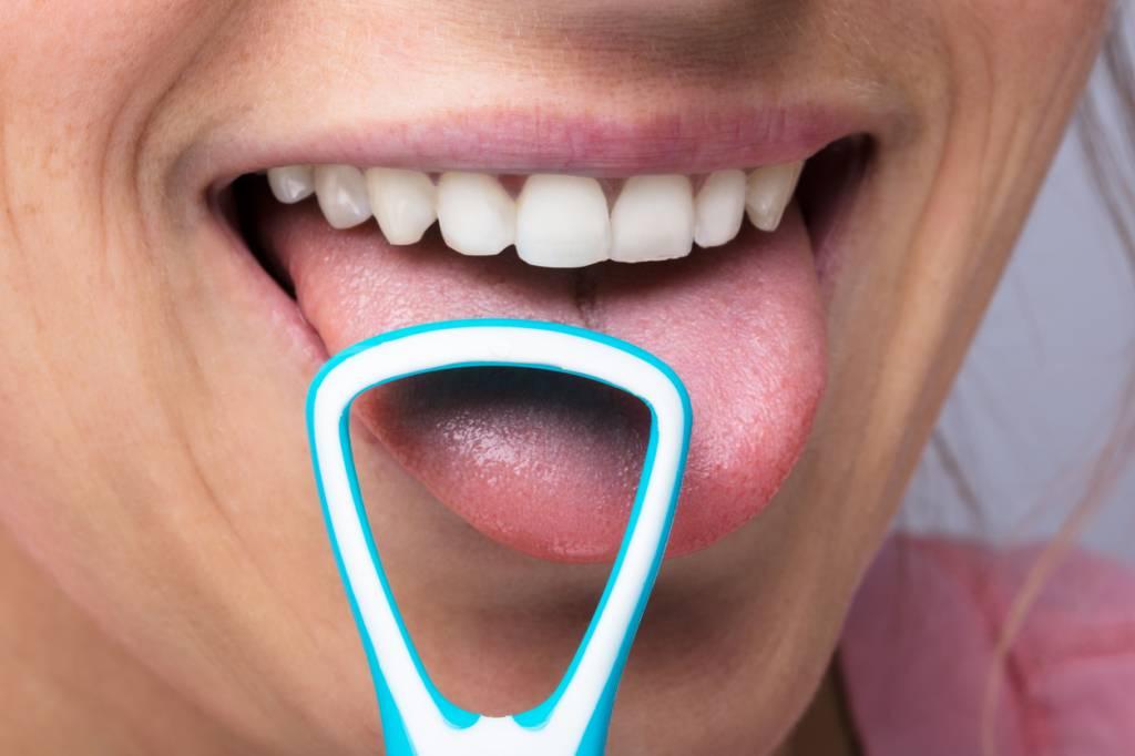 gratte langue hygiène buccodentaire